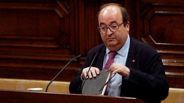 El Parlament vota en contra de designar a Iceta senador