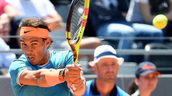 Sólida victoria de Nadal y Federer en su debut en el Masters de Roma