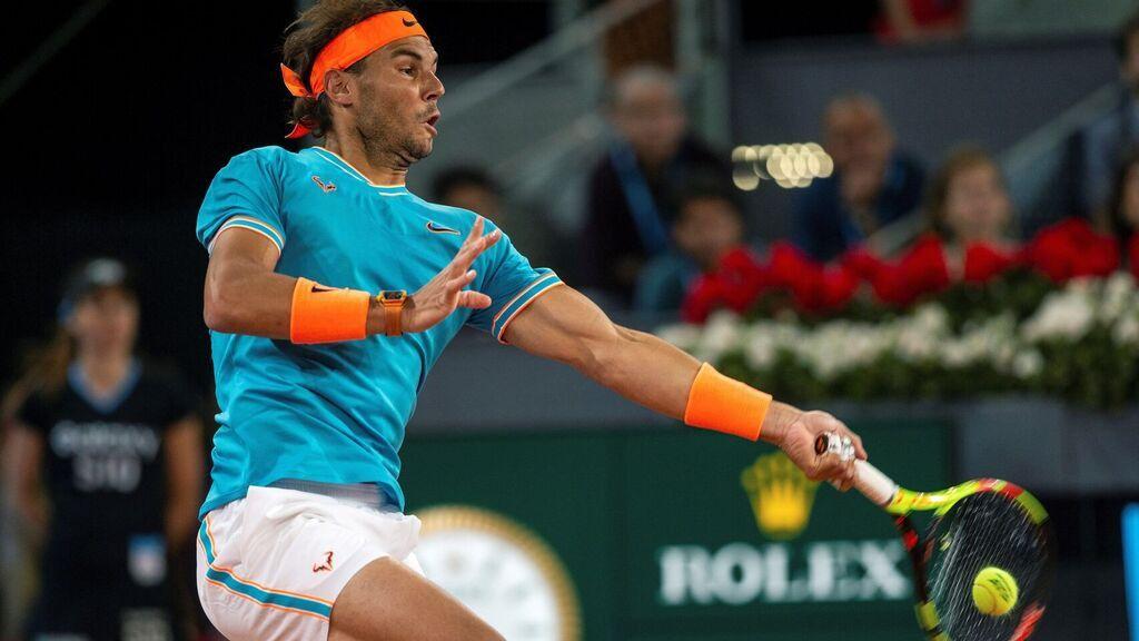 Masters Roma. Rafael Nadal supera el maratón pero Muguruza se lesiona