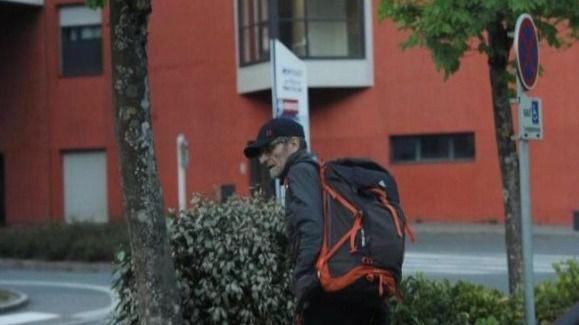 Josu Ternera momentos antes de ser detenido