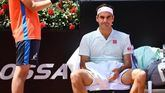 Masters Roma. Federer se lesiona y Djokovic derriba a Del Potro