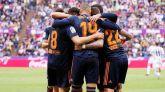 El Valencia aterriza en la Champions desde Valladolid | 0-2