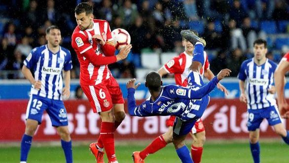 El Alavés firma el descenso del Girona en Mendizorroza   2-1