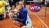 Torneo de Roma. Pliskova apoca a Konta y reina en el Foro Itálico