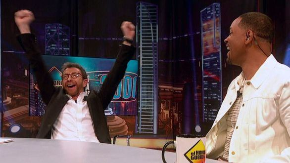 Pablo Motos celebra la invitación de Will Smith para grabar 'El Hormiguero' en Los Ángeles.