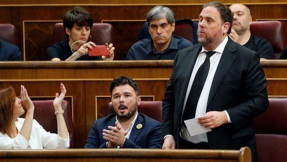 Los independentistas y Vox convierten el Congreso de los Diputados en un circo