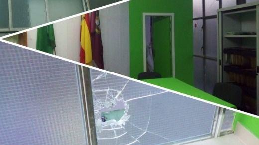 La sede de Vox en Bilbao es atacada a pedradas