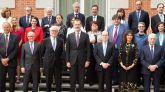Felipe VI recibe en la Zarzuela a varios premios nobel y científicos