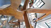 Escalera del Espacio de la Fundación Telefónica