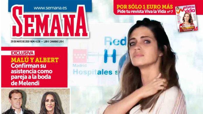 Albert Rivera y Malú asistirán juntos a la boda de Melendi, según Semana