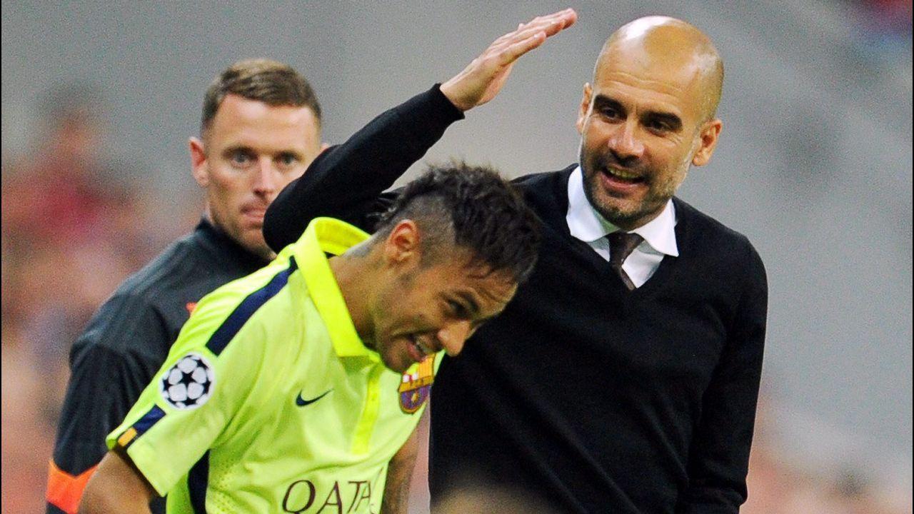 PSG y City se desesperan por amarrar a Neymar, Mbappè y Guardiola