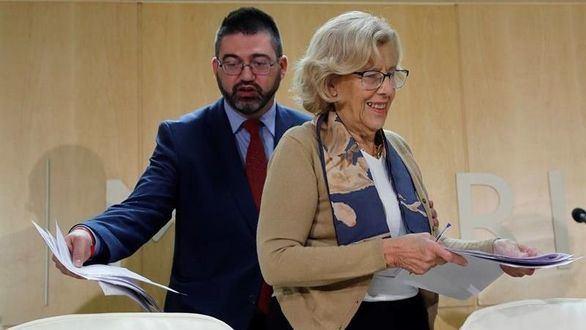 Iglesias pide votar a Sánchez Mato porque Carmena ganará