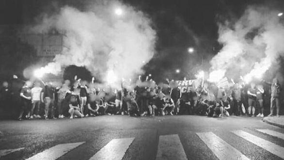 Detienen a 23 hinchas radicales del Barça horas antes de la final de Copa