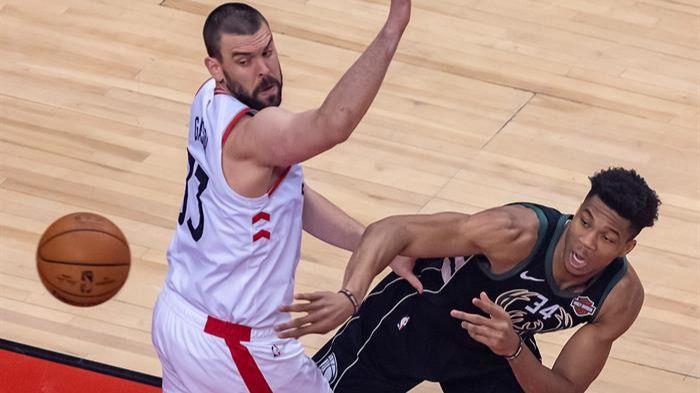 NBA Playoffs. Los Raptors suprimen a los Bucks y Marc Gasol irá a por el anillo