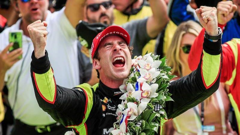 Indy500. El francés Pagenaud gana en Indianápolis por vez primera