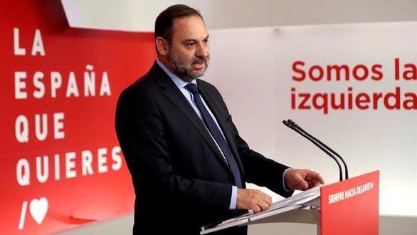 El ministro de fomento en Funciones y secretario de área de Organización del PSOE, José Luis Ábalos.