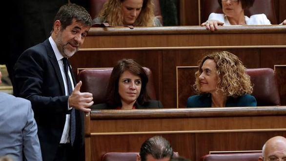 Jordi Sánchez pide a la Mesa reunirse con Felipe VI en la próxima ronda de consultas