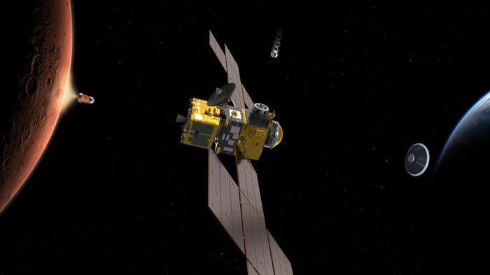 Así será la primera misión espacial que tocará Marte y volverá para contarlo