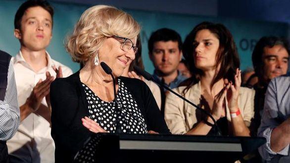 Carmena recula y dice ahora que intentará ser alcaldesa