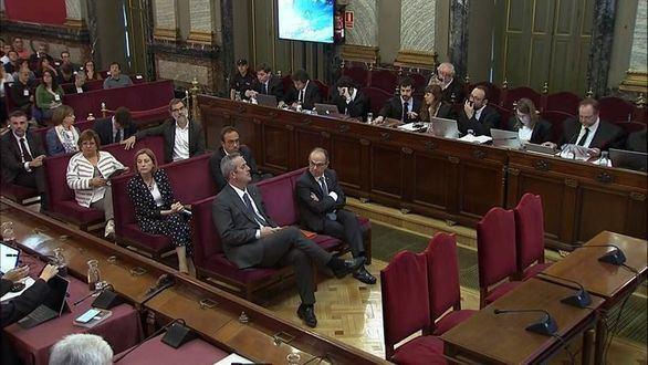La Fiscalía ratifica su acusación de rebelión contra la cúpula del procés