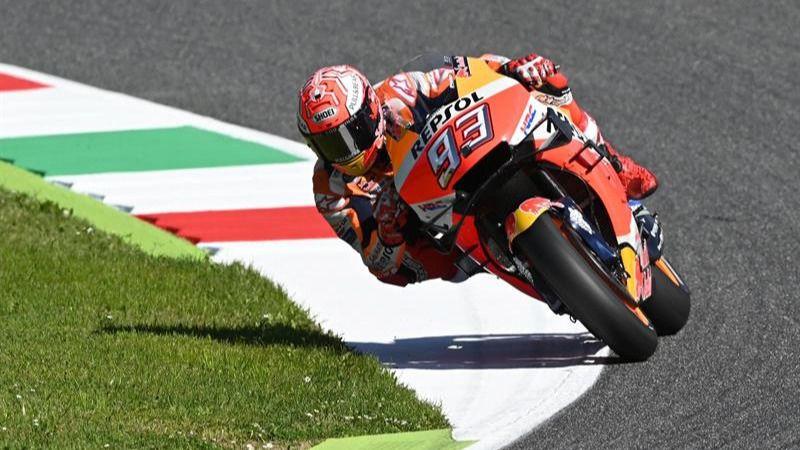 MotoGP. Márquez resta importancia a la compañía de Lorenzo antes de correr en Italia