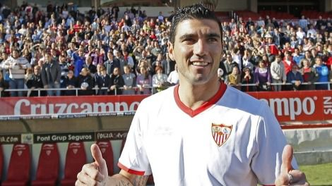 José Antonio Reyes, futbolista del Sevilla y más equipos