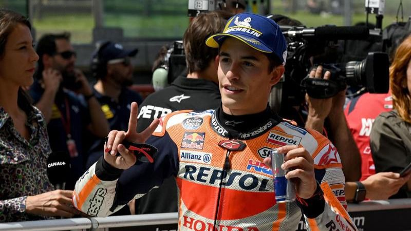 GP Italia. Marc Márquez doma a los 'novatos' y firma la 'pole'