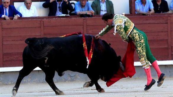 Puerta Grande para Ferrera y dos cornadas para Luis David en Las Ventas