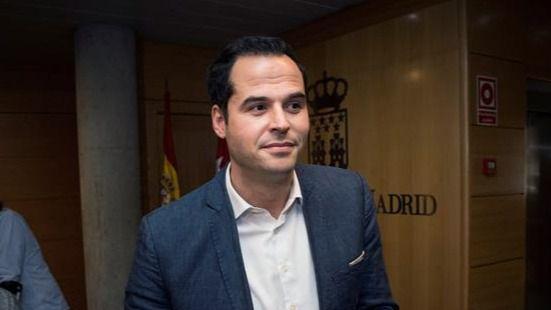Aguado apuesta por un Gobierno en Madrid de PP y Cs sin Vox