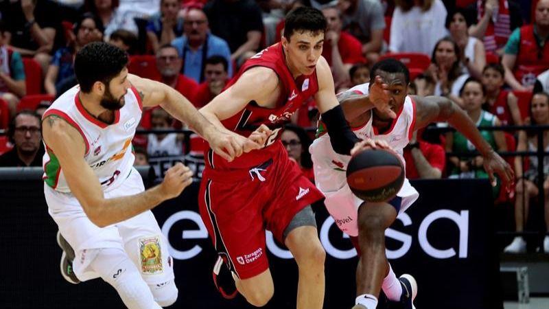 ACB Playoffs. El Zaragoza confirma la primera sospresa: elimina al Baskonia   76-69