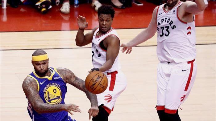NBA Finals. Los Warriors sobreviven en Toronto y roban el factor cancha