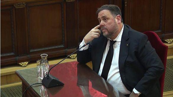 El fiscal critica a Junqueras por su
