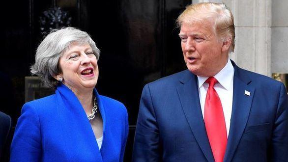 Trump y May aspiran a un