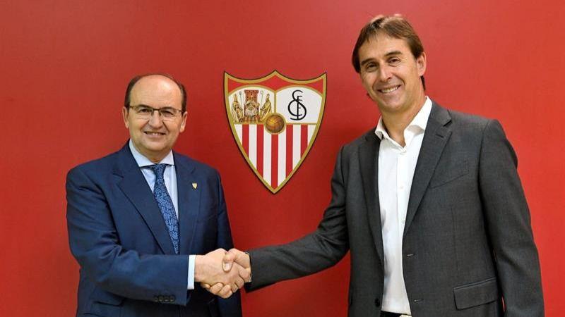 Julen Lopetegui, nuevo entrenador del Sevilla para las tres próximas temporadas