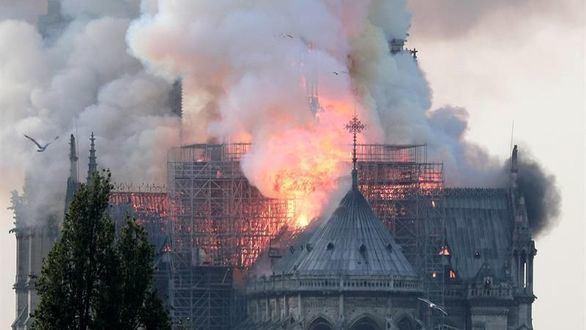 Contaminación por plomo tras el incendio de Notre Dame