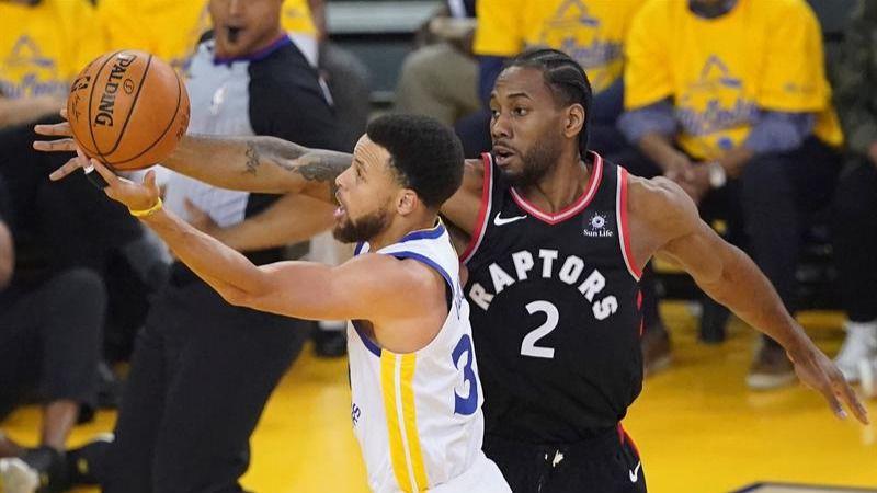 NBA Finals. La lesiones mutilan a los Warriors y los Raptors no lo desaprovechan