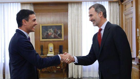 Sánchez acude a la ronda de consultas sin pactos de gobierno