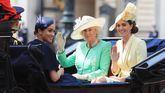 Meghan Markle celebra los 93 años de Isabel II y acapara todas las miradas