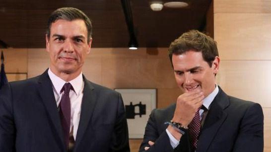 Rivera reitera a Sánchez que votarán en contra de su investidura