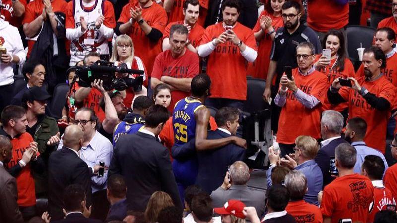 NBA. Las concecuencias de la lesión de Durant en las Finales y en el mapa de la liga