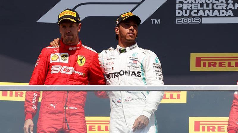 Fórmula Uno. La polémica no puede más que el error de Vettel para Ferrari