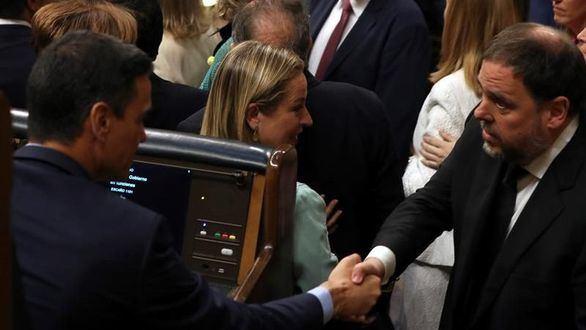 Sánchez, a través de la Abogacía del Estado, propone inmunidad para Junqueras