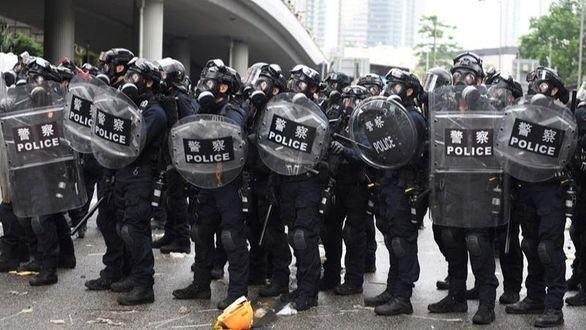 Disturbios en las protestas contra la nueva ley de extradición de Hong Kong