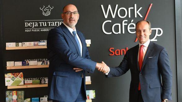 Santander y Telefónica, juntos para desarrollar el 5G en la banca