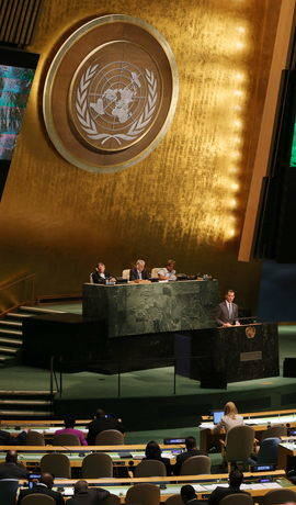 El Rey, ante la ONU: 'Nadie es inmune a las debilidades de un modelo de crecimiento que hemos de corregir'