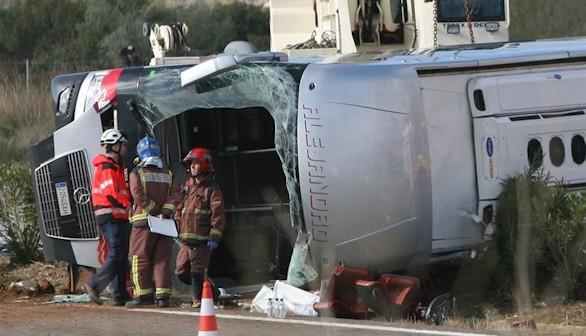 Los Mossos apuntan al conductor: se durmió o se distrajo al volante
