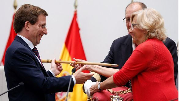 Almeida, nuevo alcalde de Madrid con el apoyo de Cs y Vox