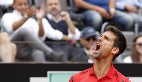 Djokovic, Federer y Murray se meten en los octavos de final en Roma