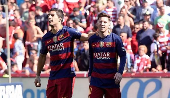 El Barça gana con triplete de Luis Suárez y logra el título liguero | 3-0