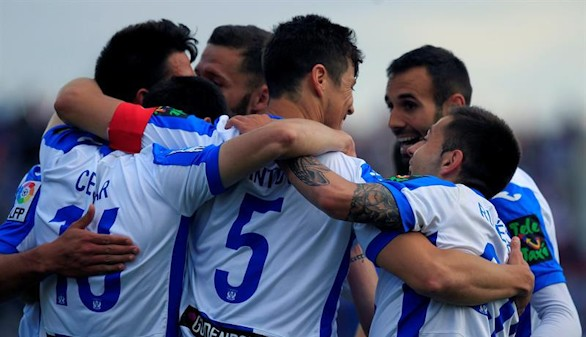 El Leganés reescribe su historia con el ascenso a Primera